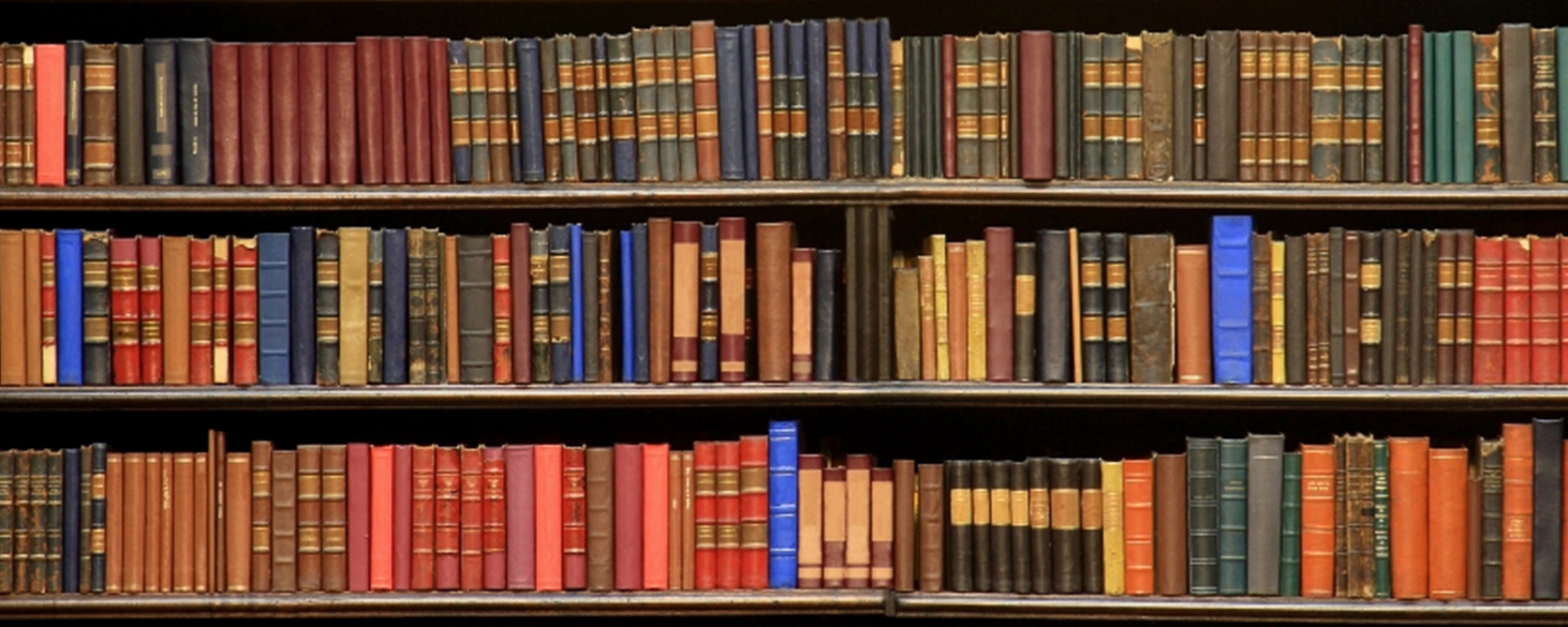 Shelf of textbooks & The Bookshelf | Giselle Bahr Clinical Psychologist